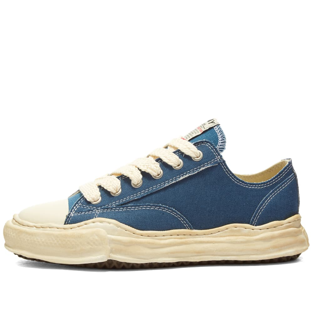 Maison MIHARA YASUHIRO Peterson Original Low Top Canvas Sneaker - Blue