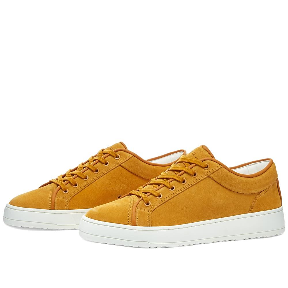 ETQ. Suede Low Top 1 Sneaker - Sunflower