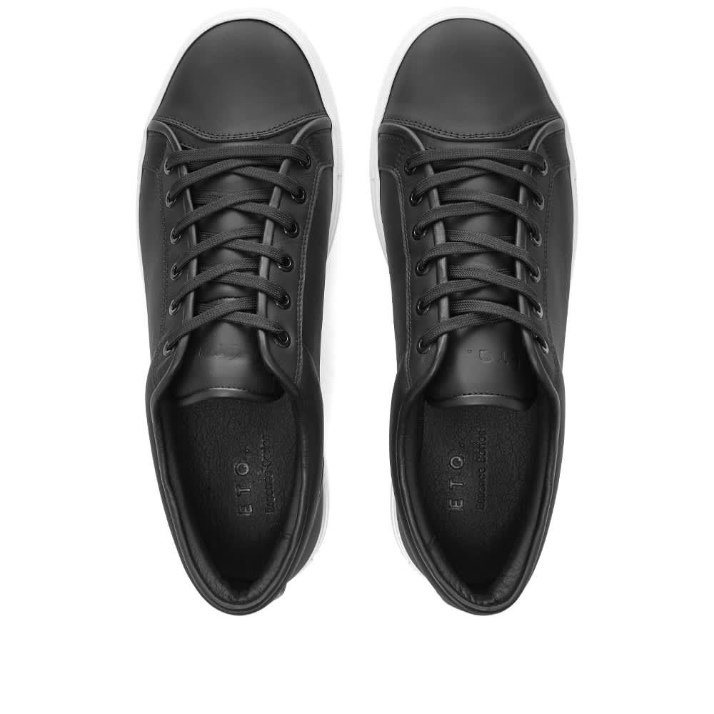 ETQ. Low Top 1 Sneaker - Black & White