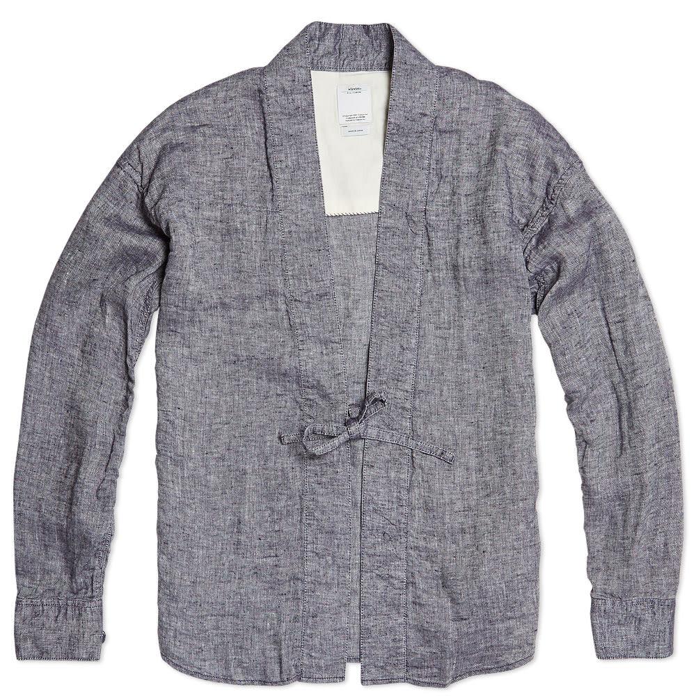 Visvim Lhamo Shirt - Navy