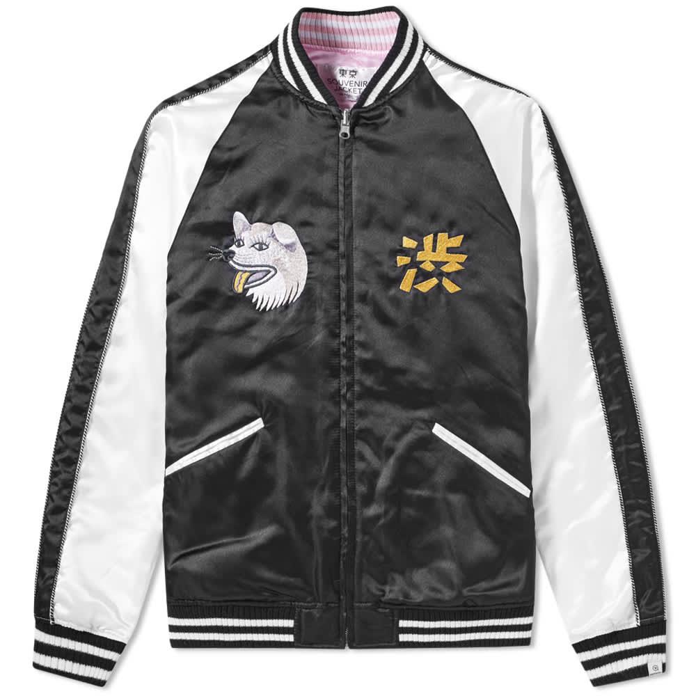 Vanquish SHIBUYA Souvenir Jacket - Black