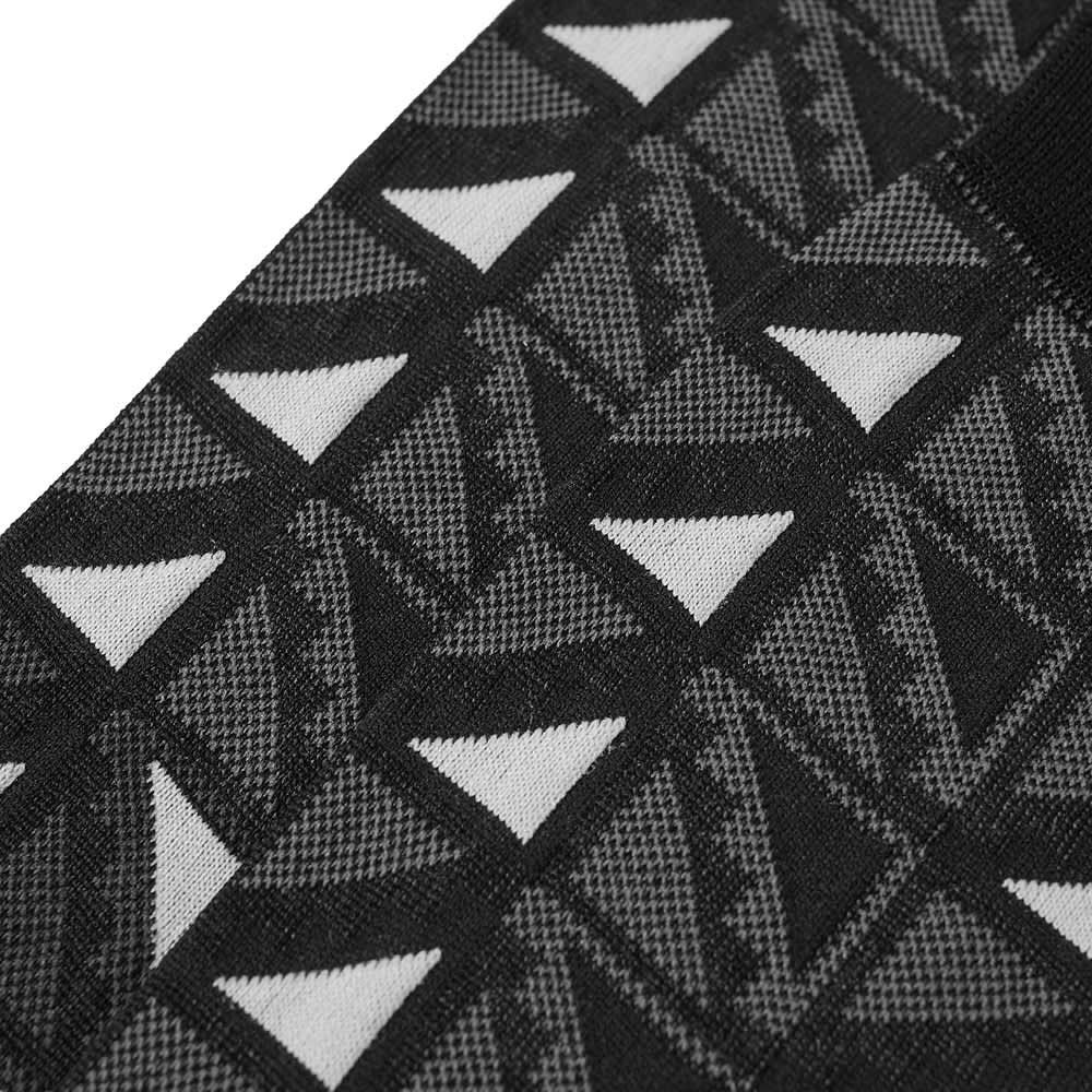 Ayame x C53 Flag Sock - Black & White