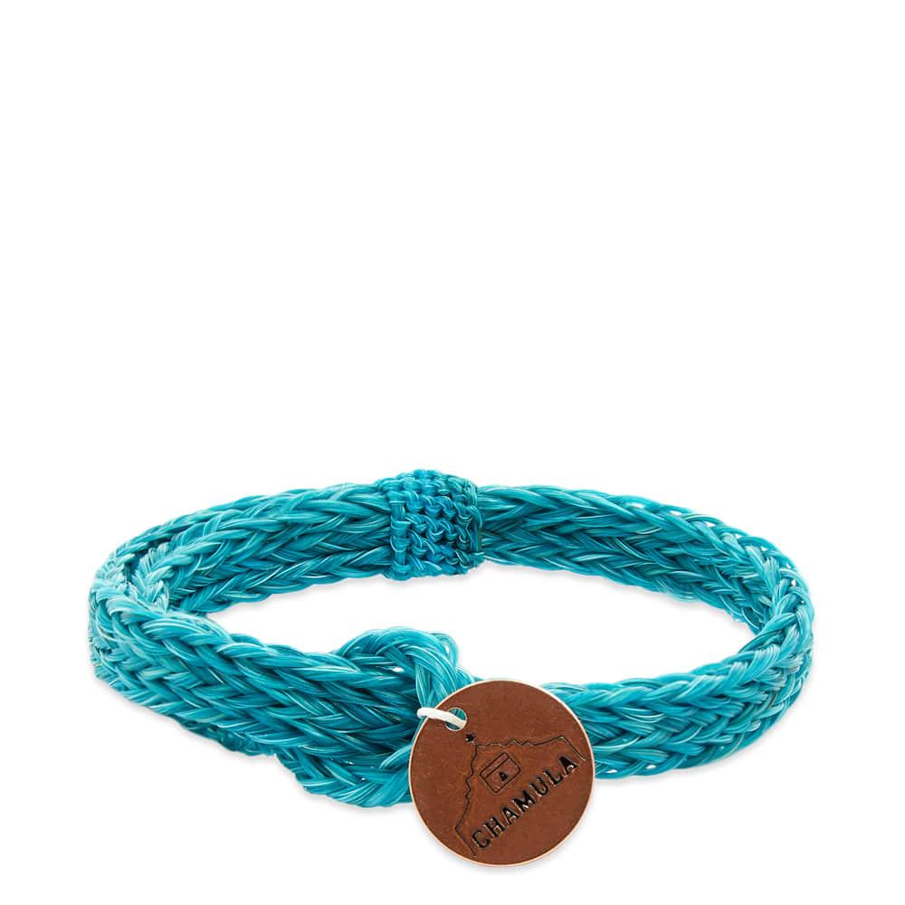 Chamula Braided Horsehair Bracelet - Turquoise