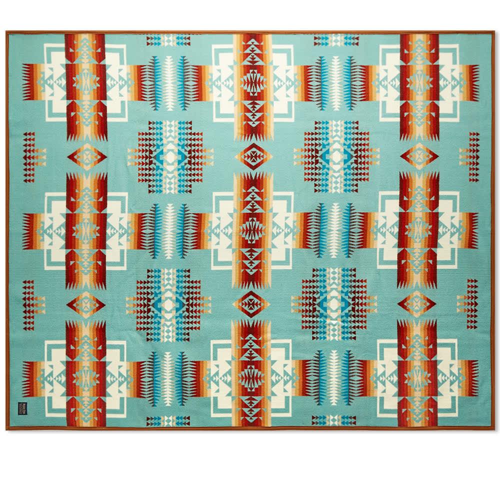 Pendleton Chief Joseph Blanket - Aqua