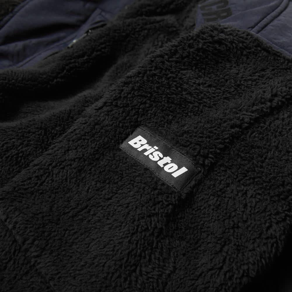 F.C. Real Bristol Sherpa Fleece Blouson - Black