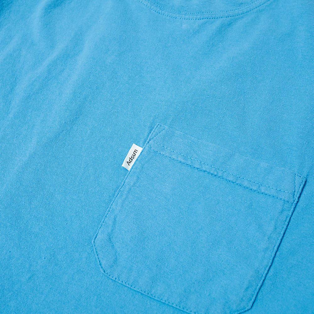 Adsum Pocket Tee - Royal Blue