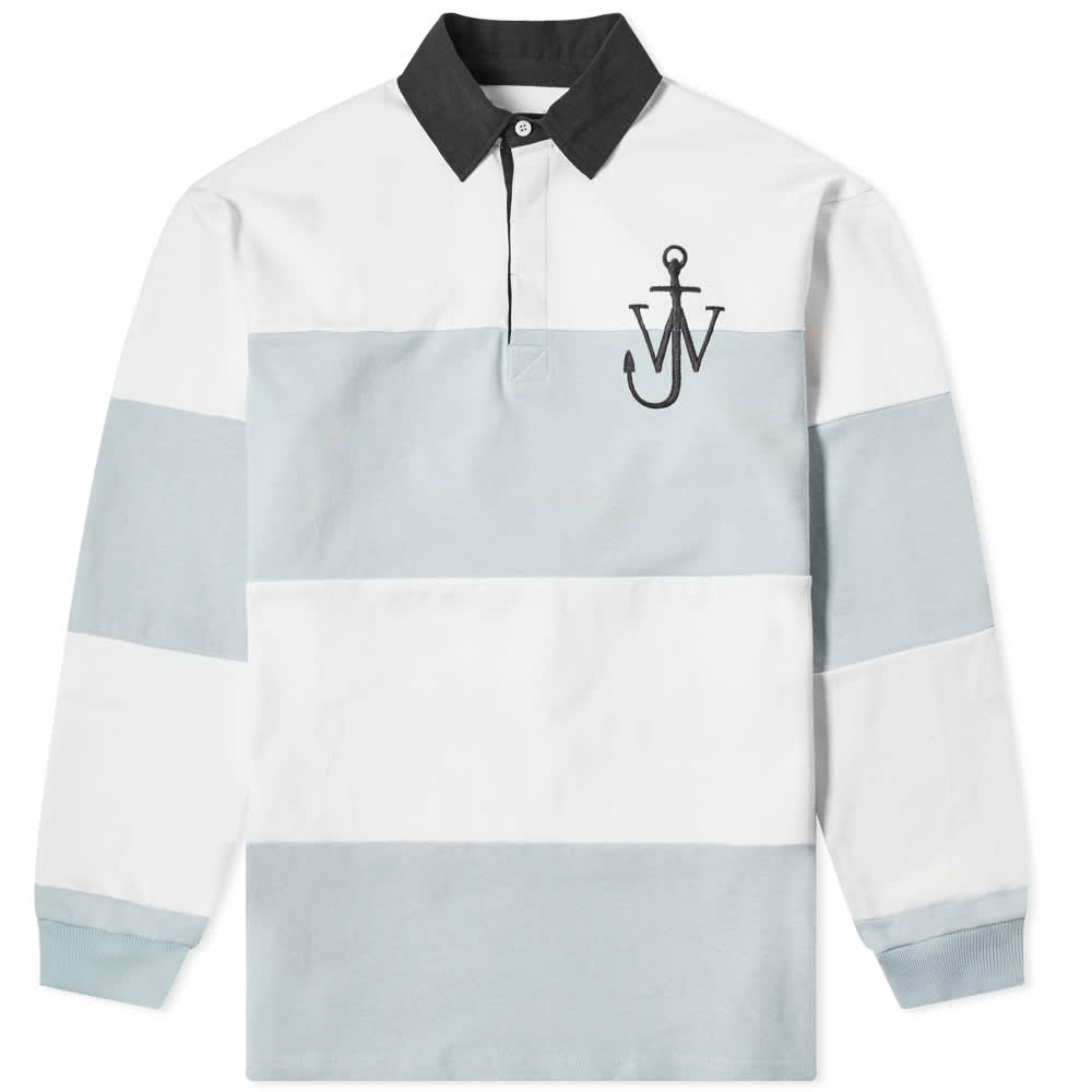 JW Anderson Panelled Polo Rugby Shirt