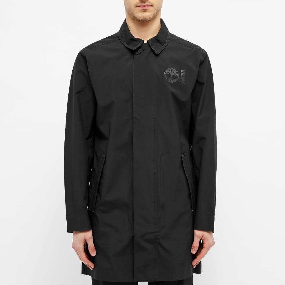 Timberland x Wood Wood Raincoat - Black