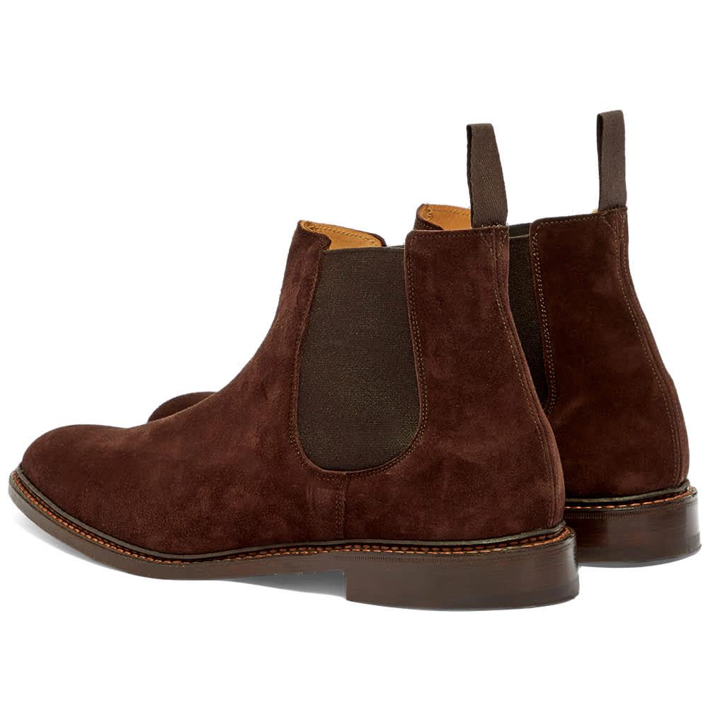 Tricker's Roxbury Chelsea Boot - Coffee Castorino Suede