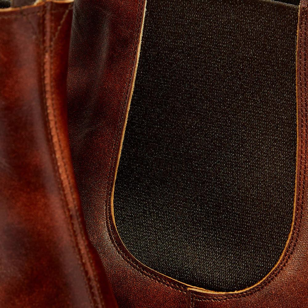 Tricker's Roxbury Chelsea Boot - Dark Brown Museum