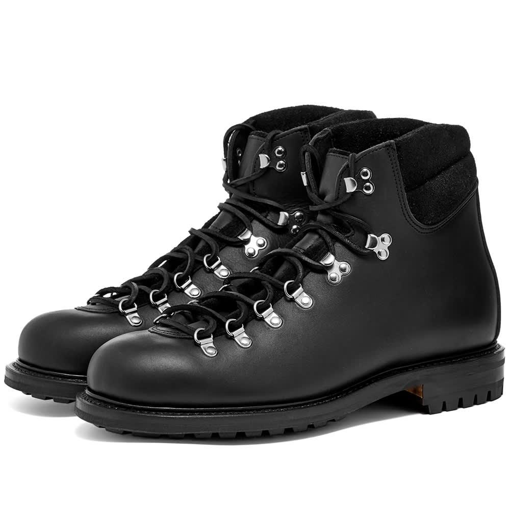 Viberg Pachena Bay Boot - Black Leather