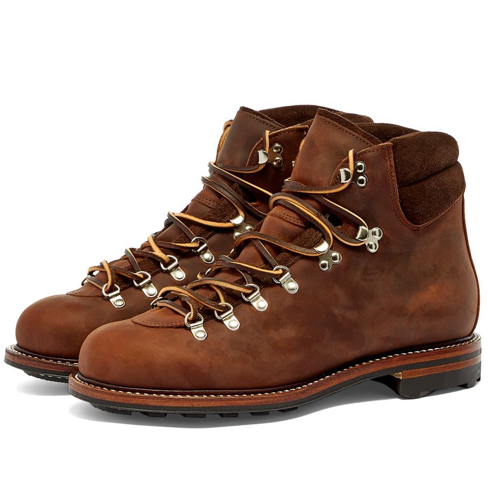 Viberg Pachena Bay Boot - Tobacco Leather