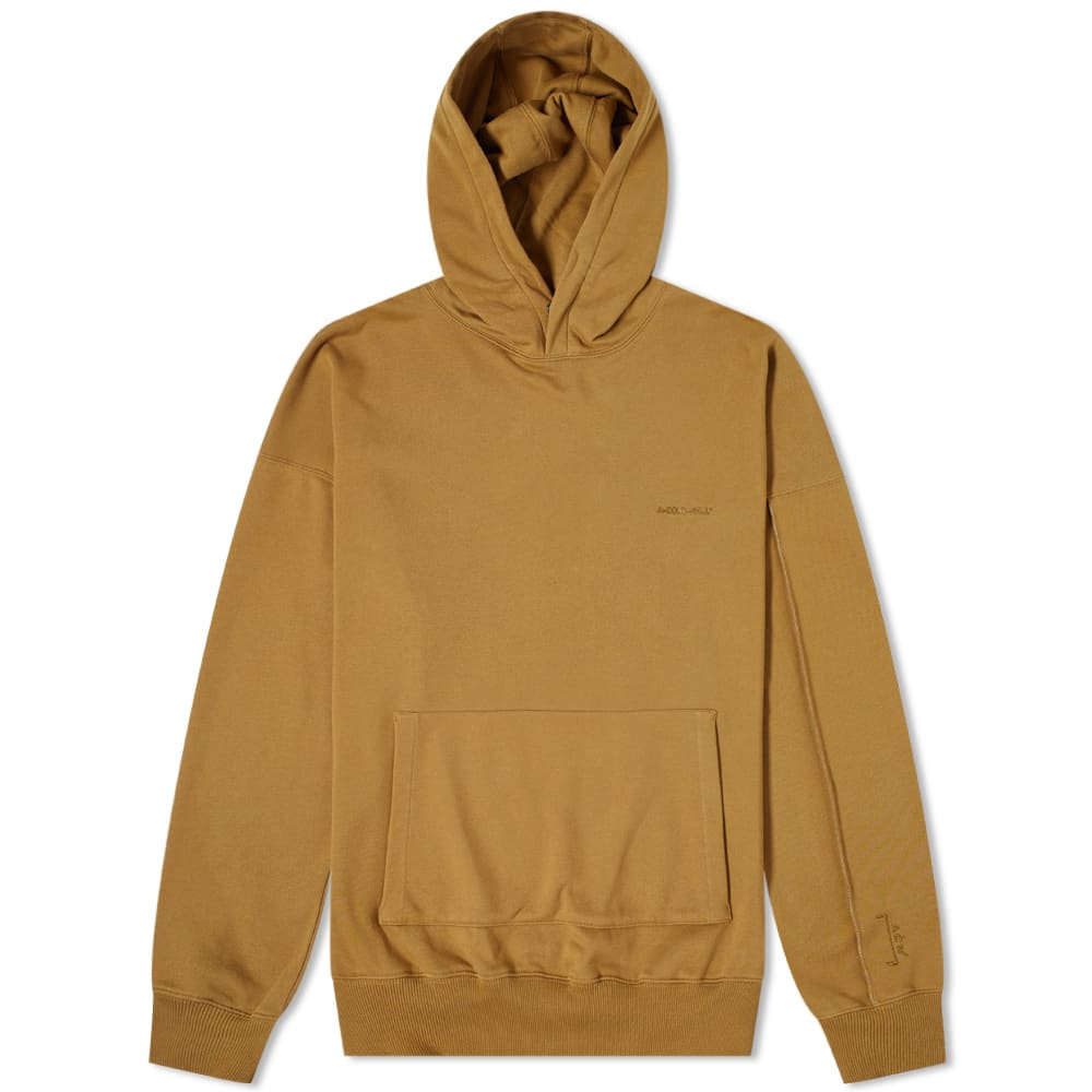A-COLD-WALL* Dissection Panelled Popover Hoody - Olive
