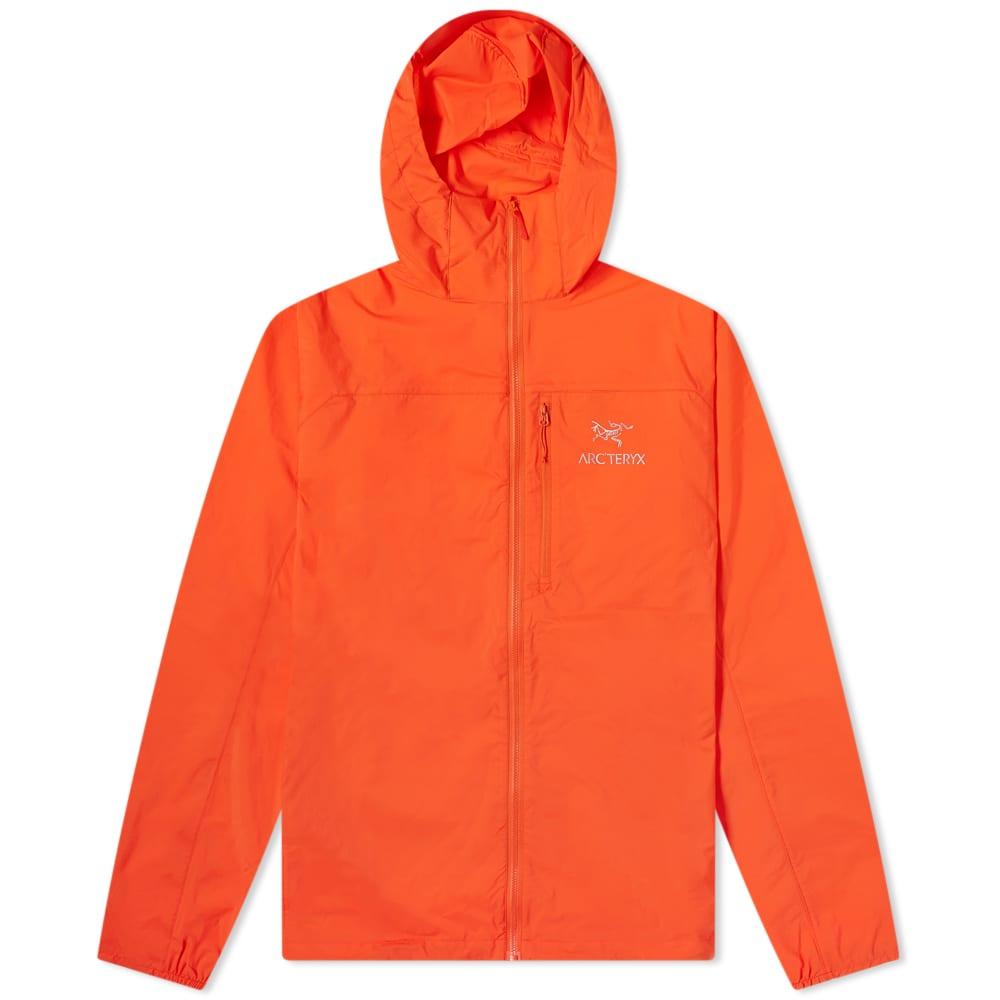 Arc'teryx Squamish Windshell Jacket - Hyperspace Orange