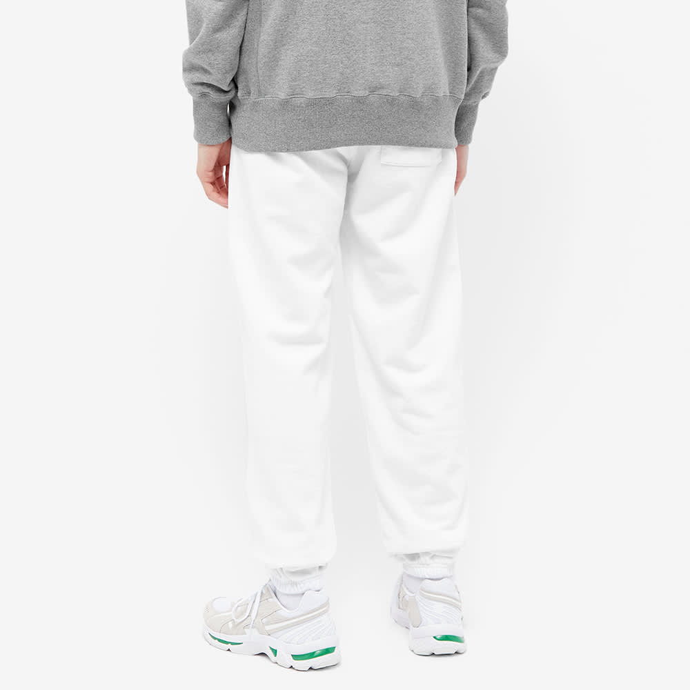 Sporty & Rich Upper East Side Sweat Pant - White & Navy
