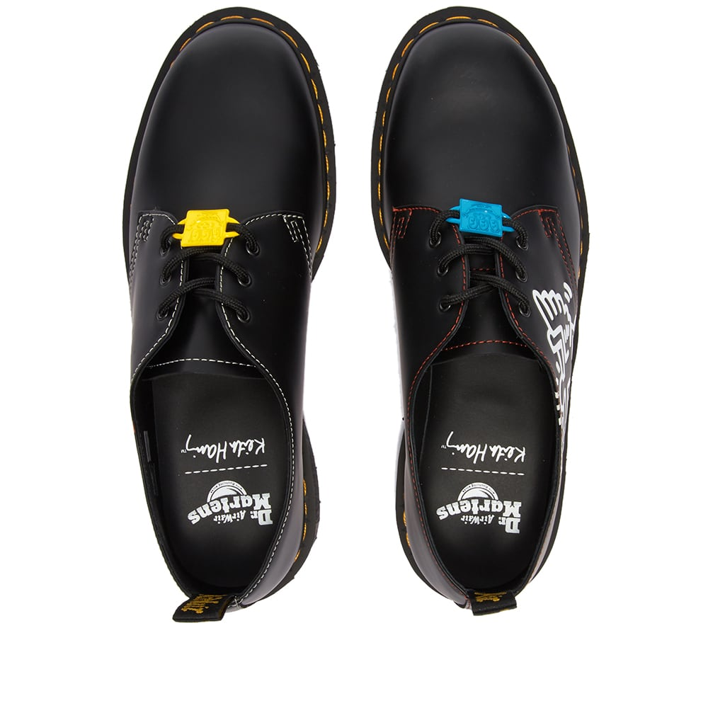 Dr. Martens x Keith Haring 1461 Shoe - Black Smooth
