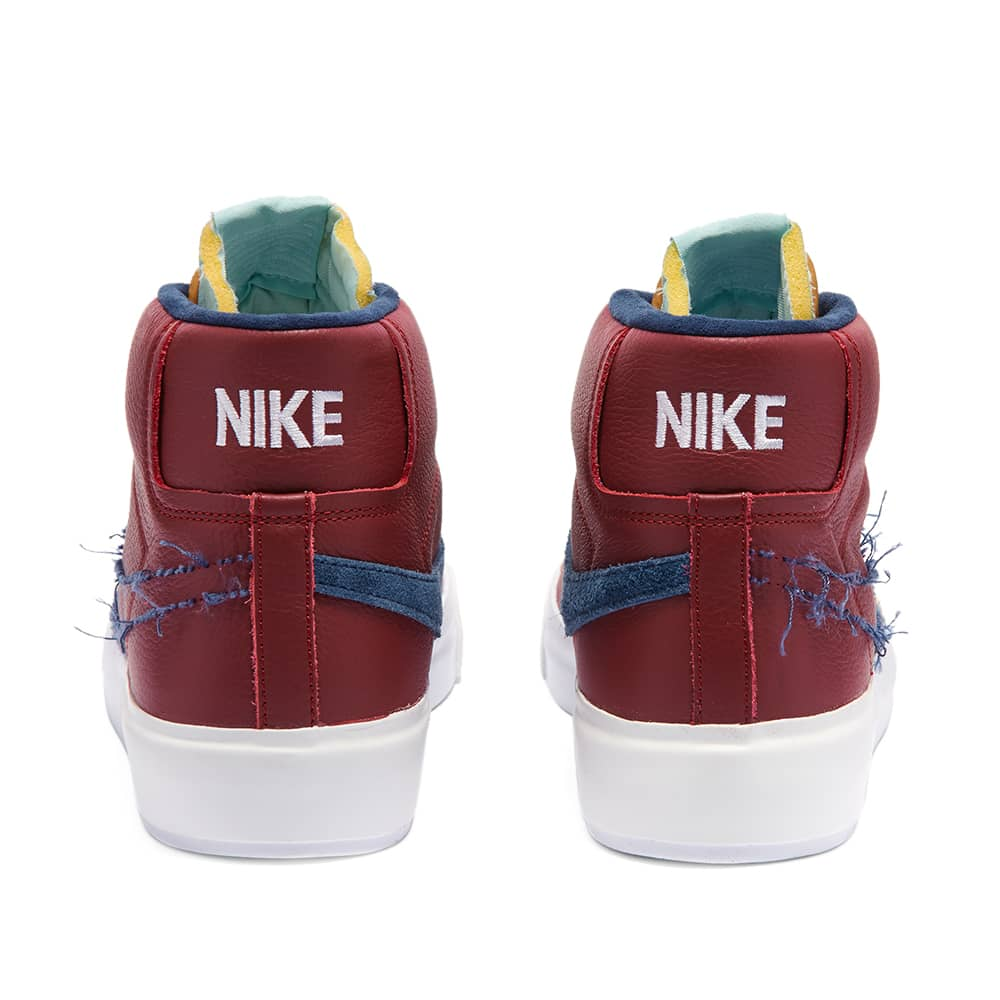 Nike SB Zoom Blazer Mid Edge - Red, Navy & White