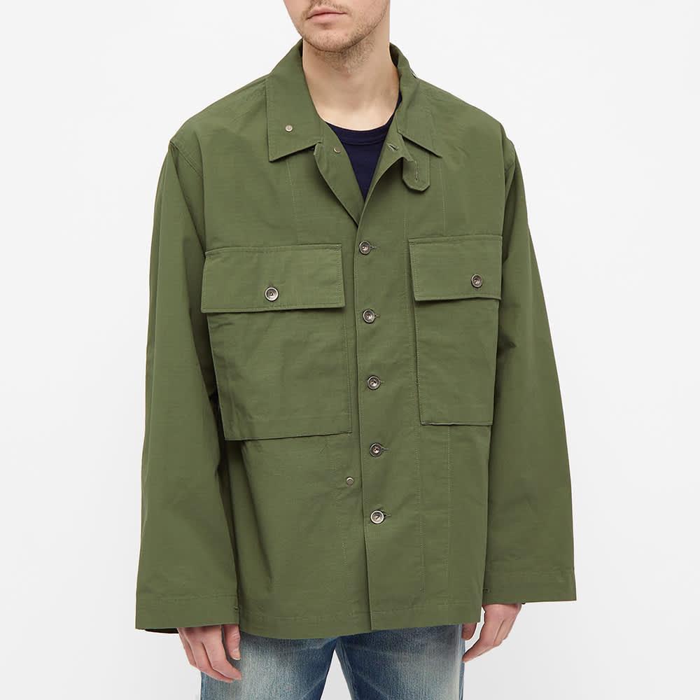 Engineered Garments M43 Shirt Jacket - Olive
