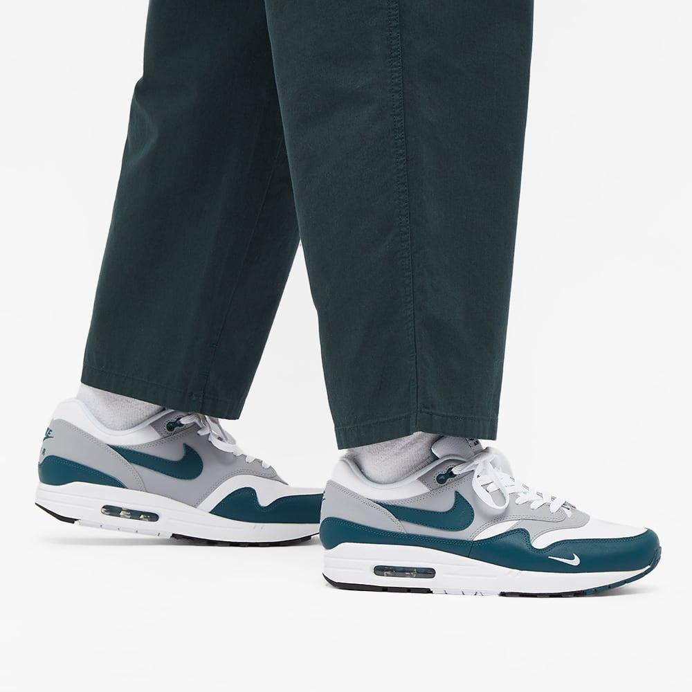 Nike Air Max 1 LV8 - White, Teal Green & Grey