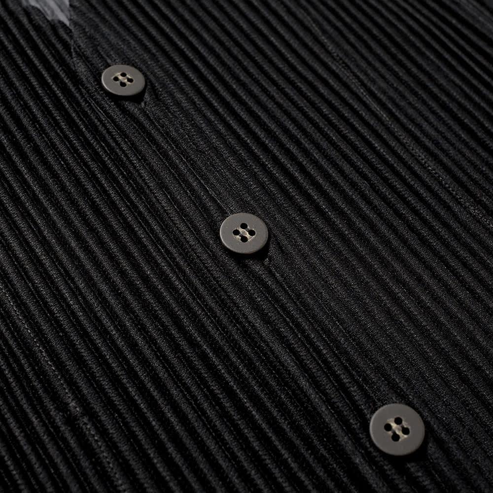 Homme Plissé Issey Miyake Pleated Waistcoat - Black & Whte