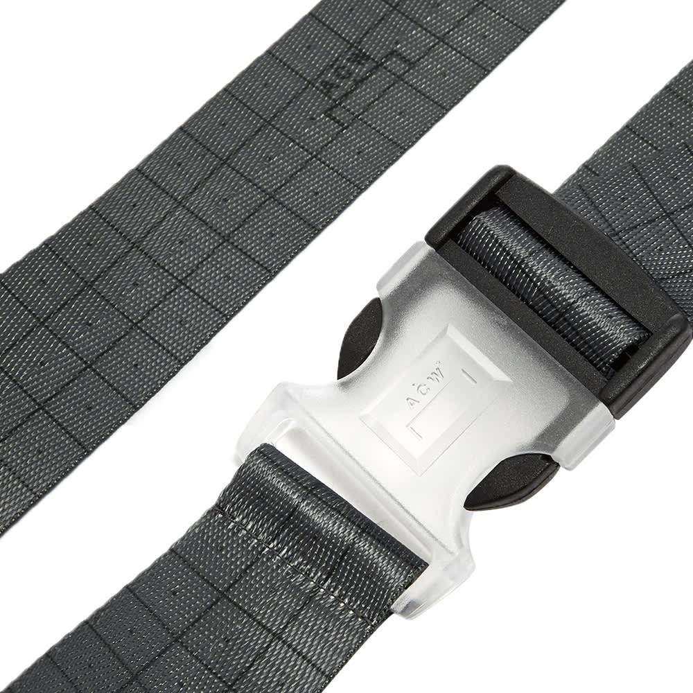 A-COLD-WALL* Grid Webbing Belt - Black