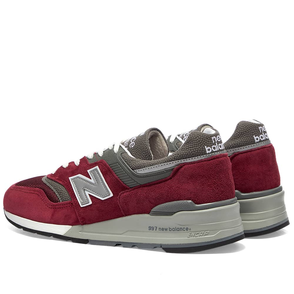 New Balance M997BR - Made in USA - Red