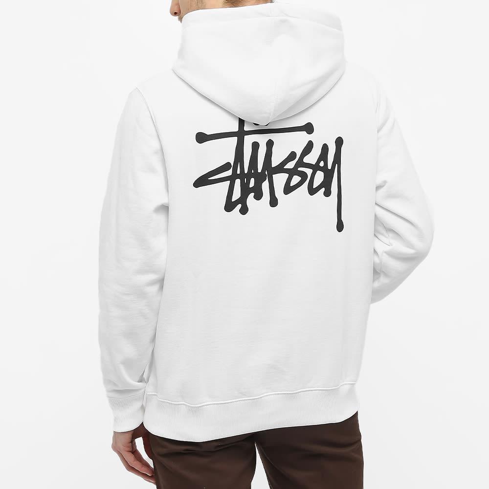 Stussy Basic Stussy Hoody - White