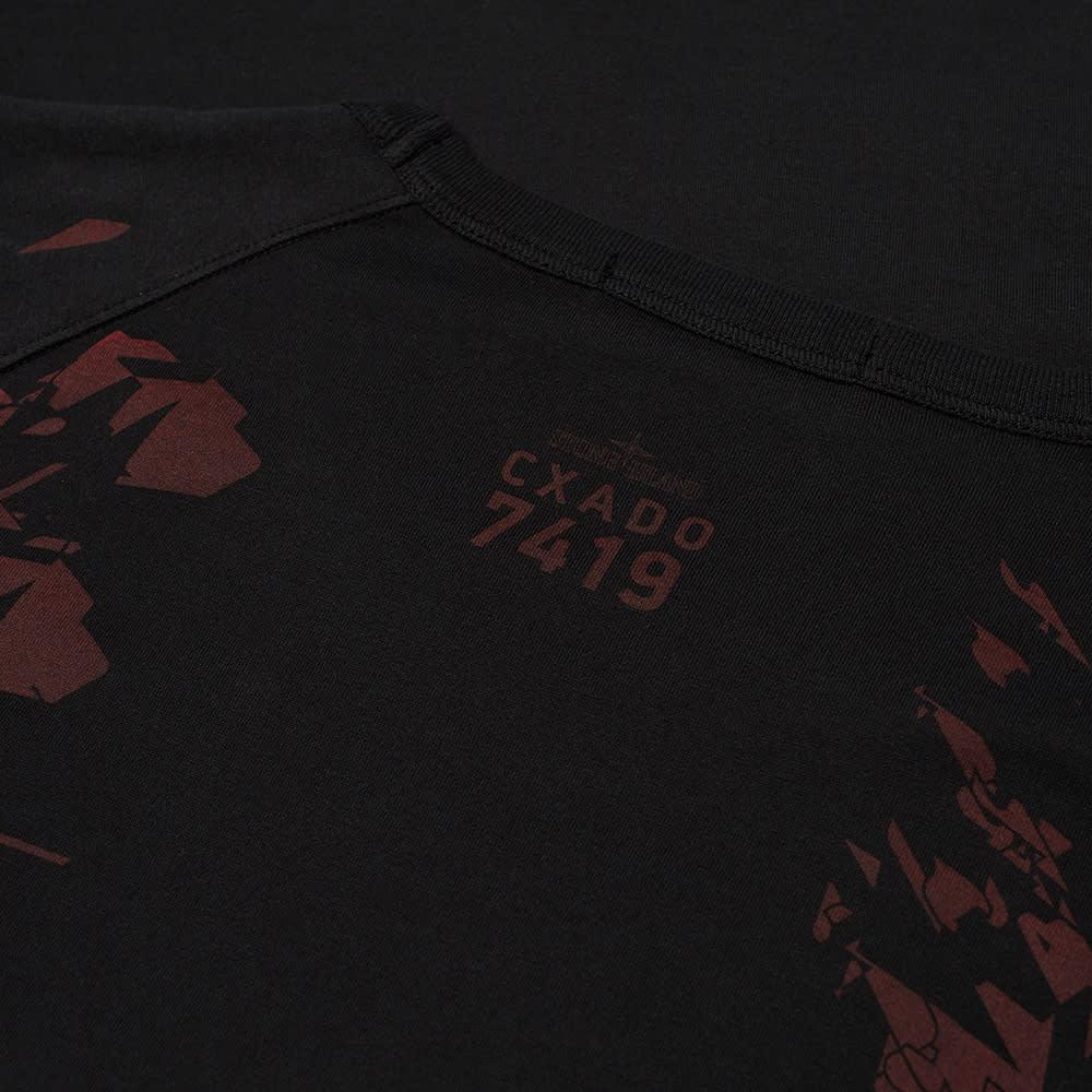 Stone Island Shadow Project Printed Pocket Tee - Black