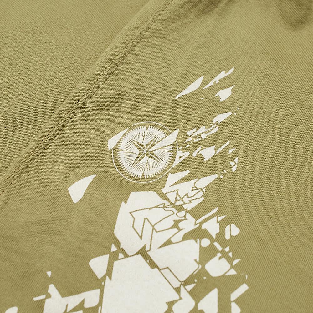 Stone Island Shadow Project Printed Pocket Tee - Olive