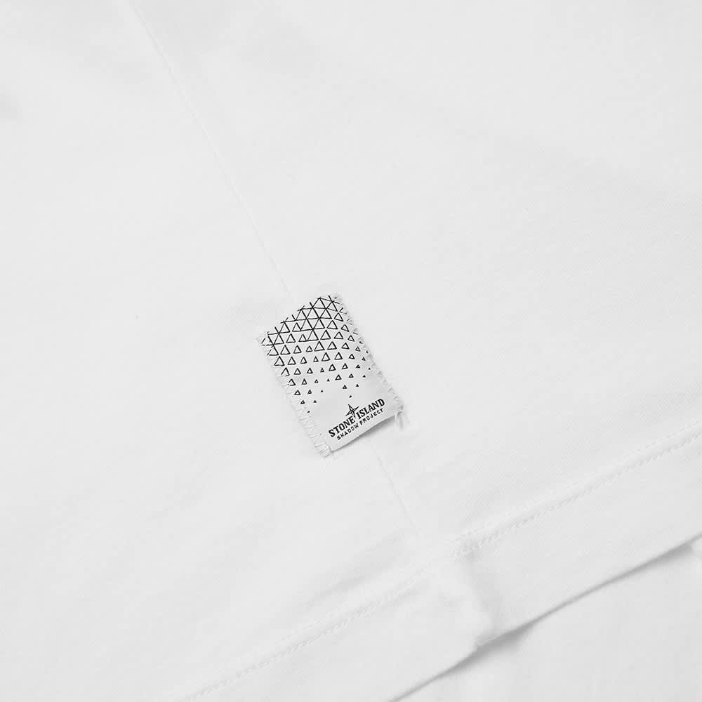 Stone Island Shadow Project Printed Pocket Tee - White