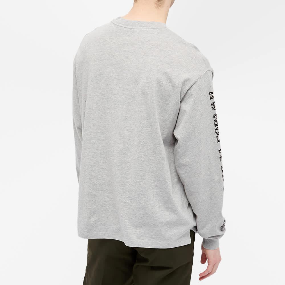 PACCBET Long Sleeve Car Keys Logo Tee - Grey Melange