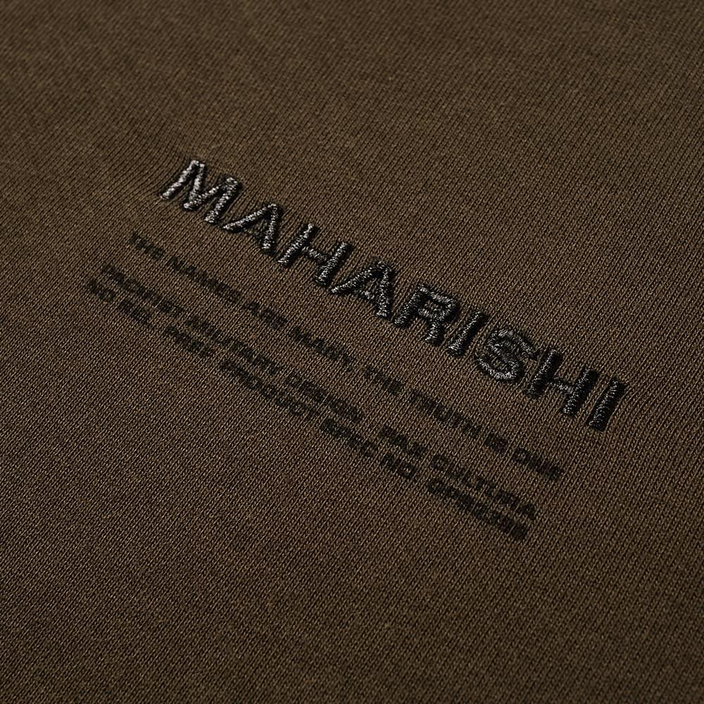 Maharishi Classic MILTYPE Crew Sweat - Mil Olive