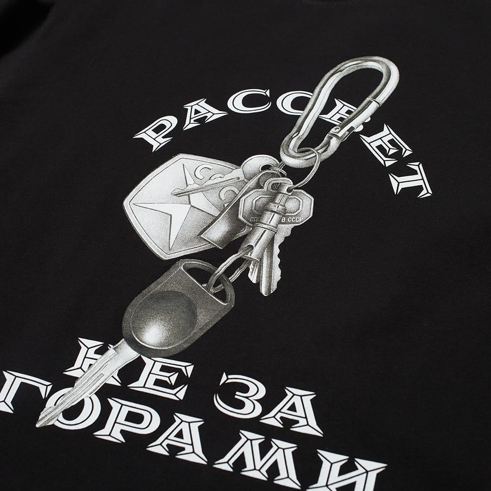 PACCBET Long Sleeve Car Keys Logo Tee - Black