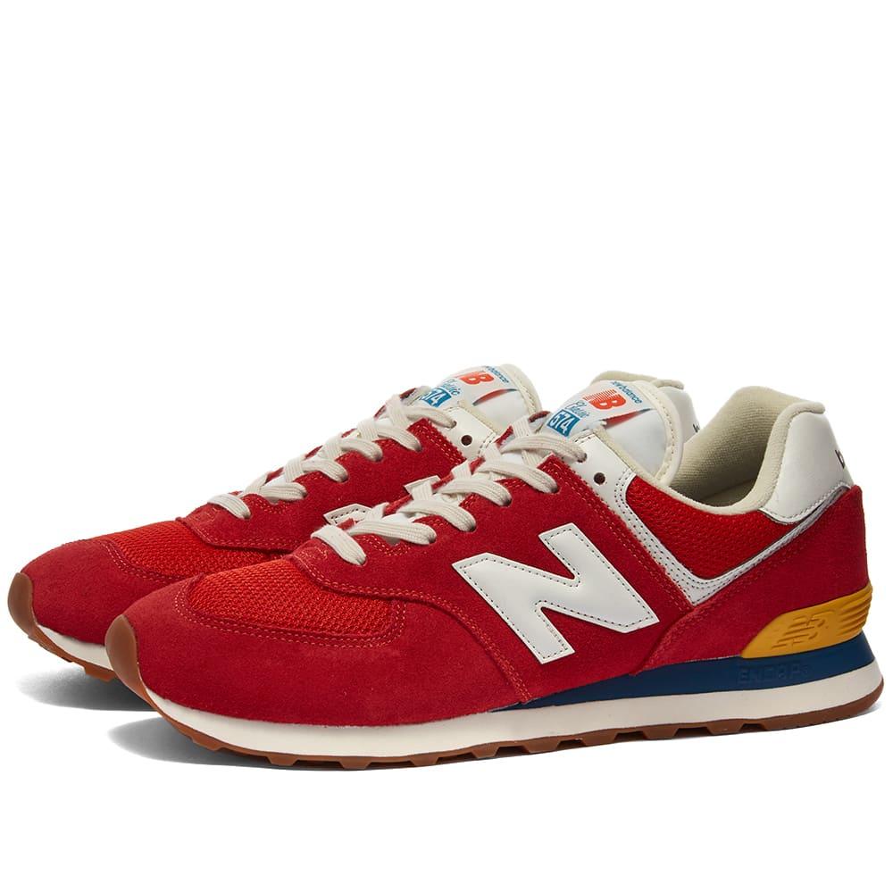 New Balance ML574HA2 - Red
