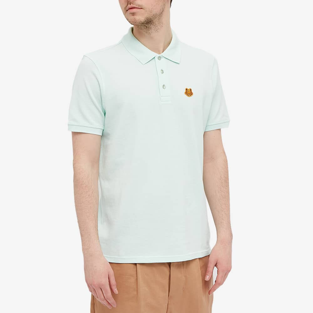 Kenzo Tiger Crest Polo - Mint