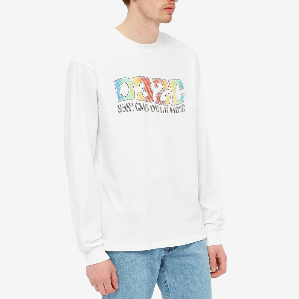 032c Long Sleeve Système Tee - White