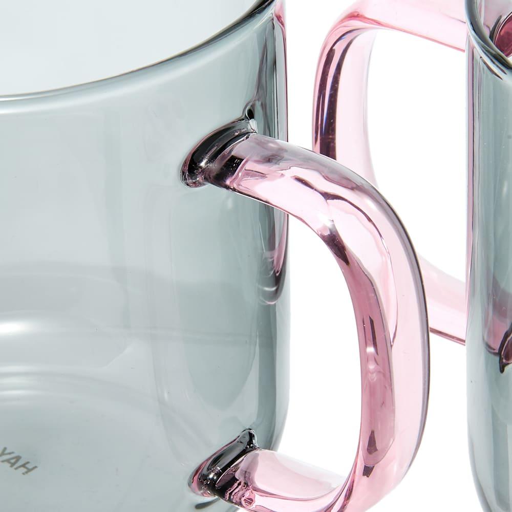 HAY Borosilicate Mug - Set Of 2 - Light Grey