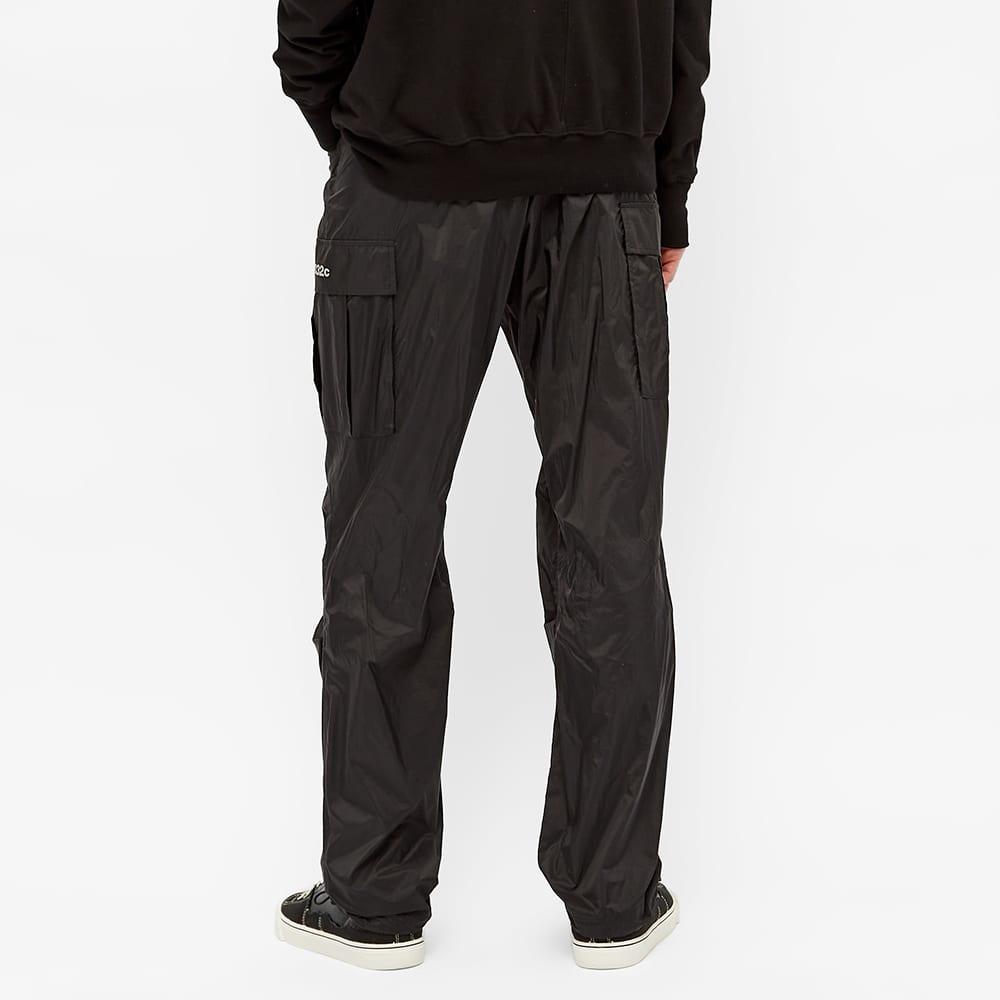 032c Translucent Nylon Cargo Pant - Black