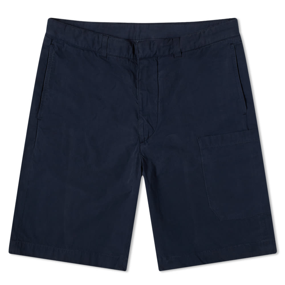 Albam Havana Patch Pocket Short - Navy