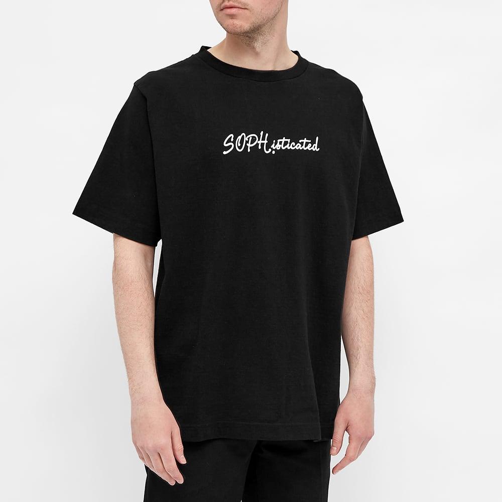 SOPHNET. Philosophy Tee - Black