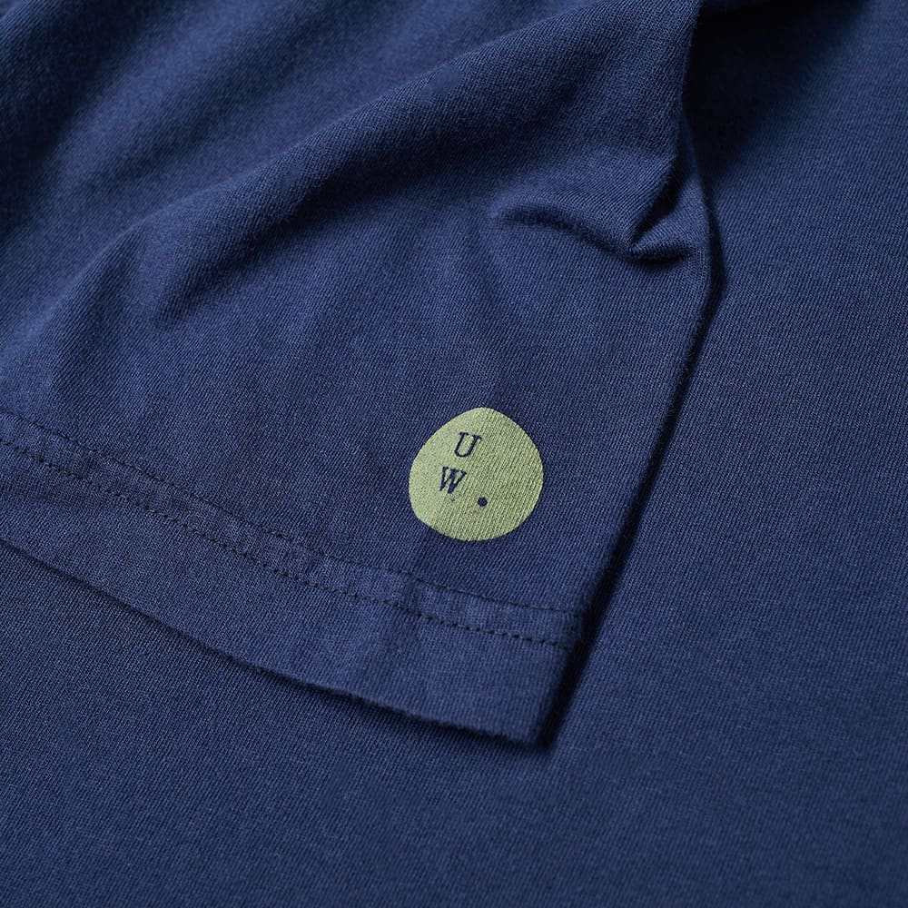 Universal Works Patched Tee - Navy