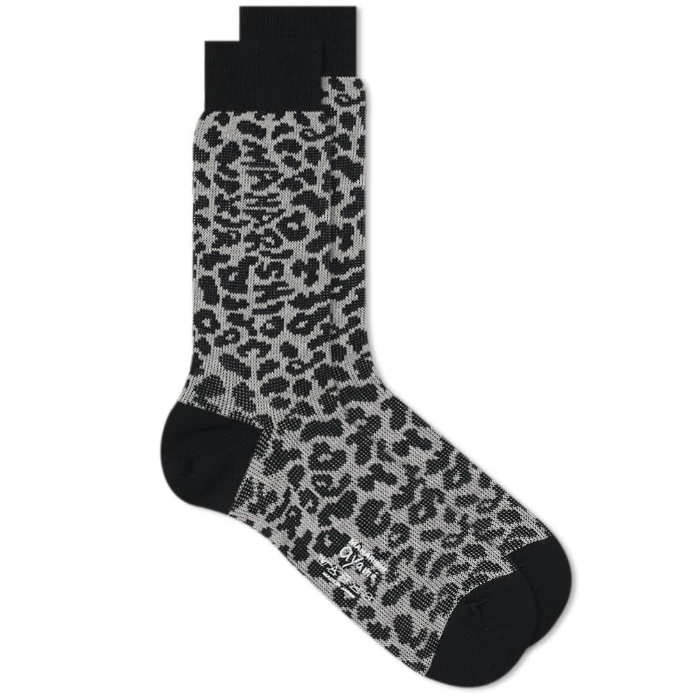 Ayame Socks X Maharishi Jacquard Camo Sock - White