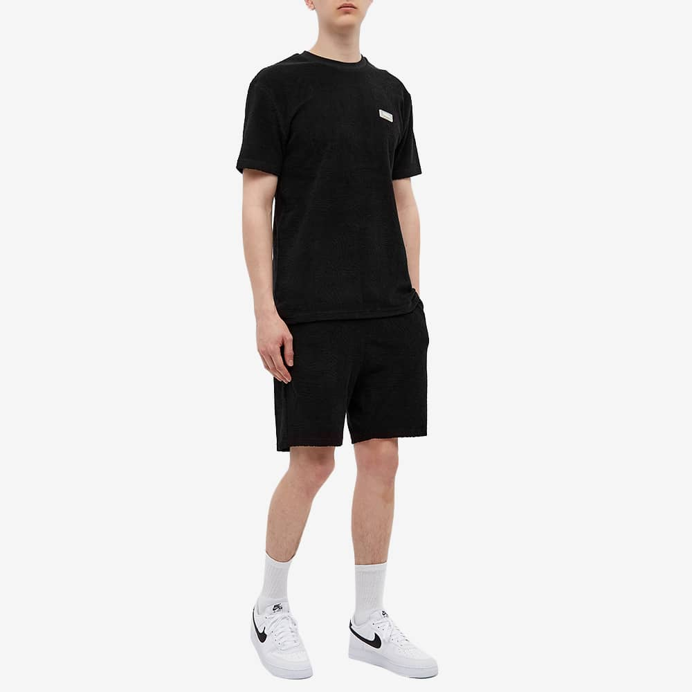 032c Topos Shaved Terry Tee - Black