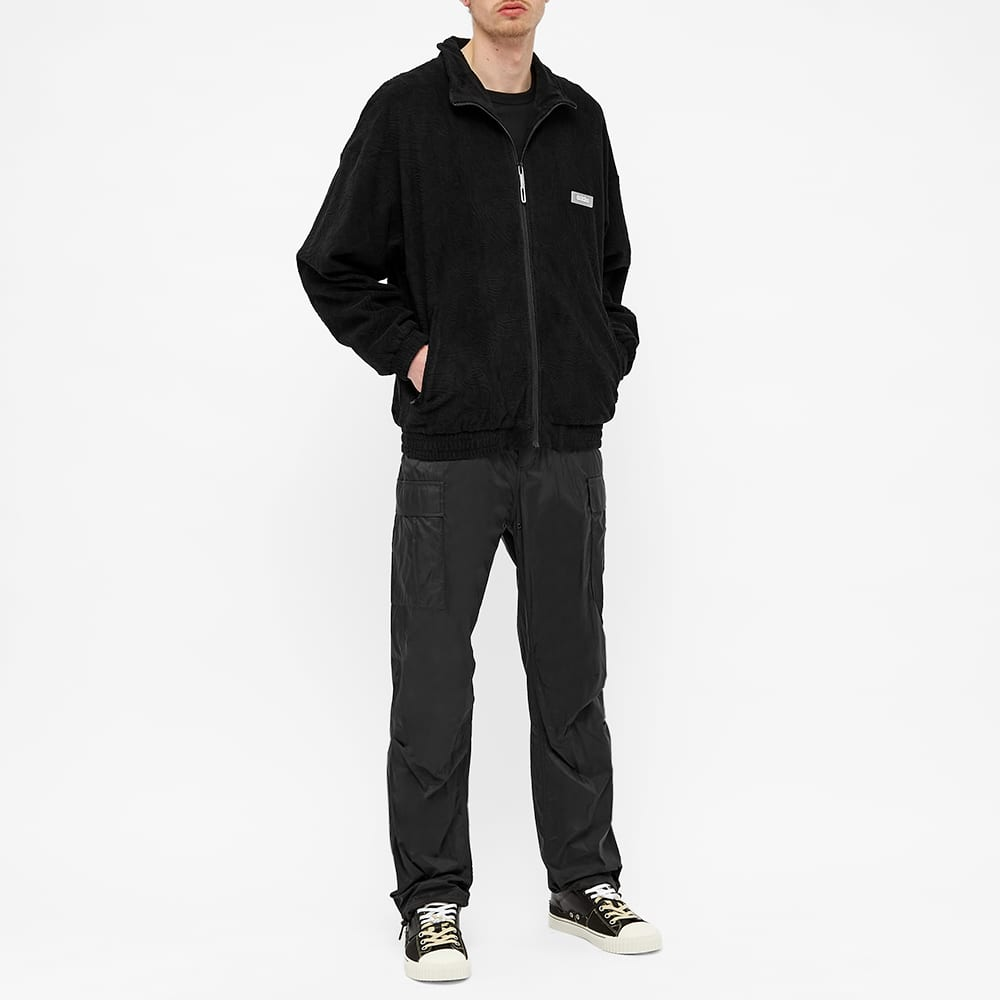 032c Topos Shaved Terry Jacket - Black