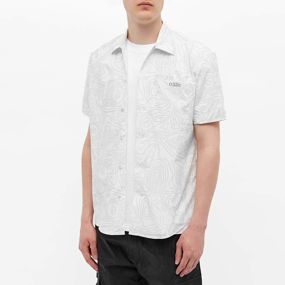 032c Topos Nylon Vacation Shirt - White