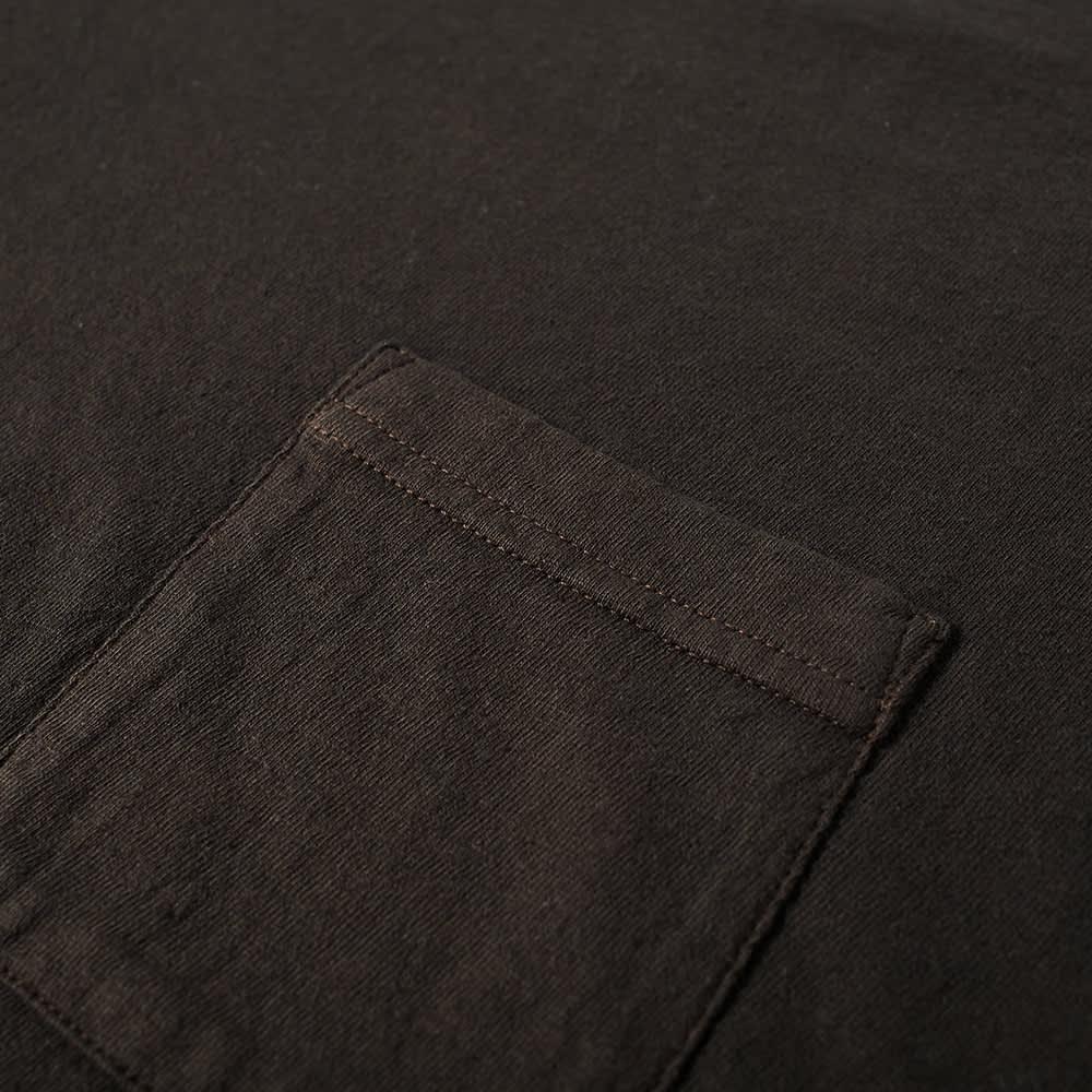 Visvim Jumbo Uneven Dye Tee - Black