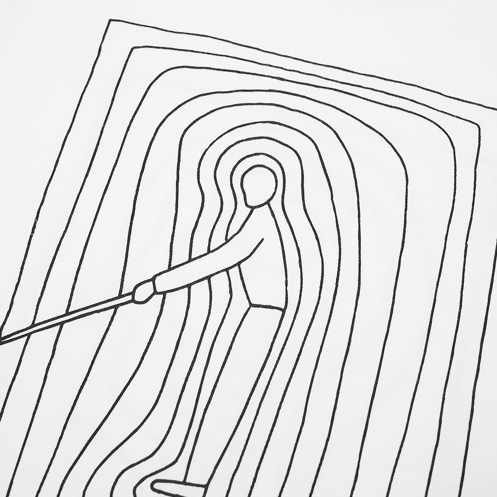 Norse Projects X Geoff Mcfetridge Niels Stick Man Tee - White