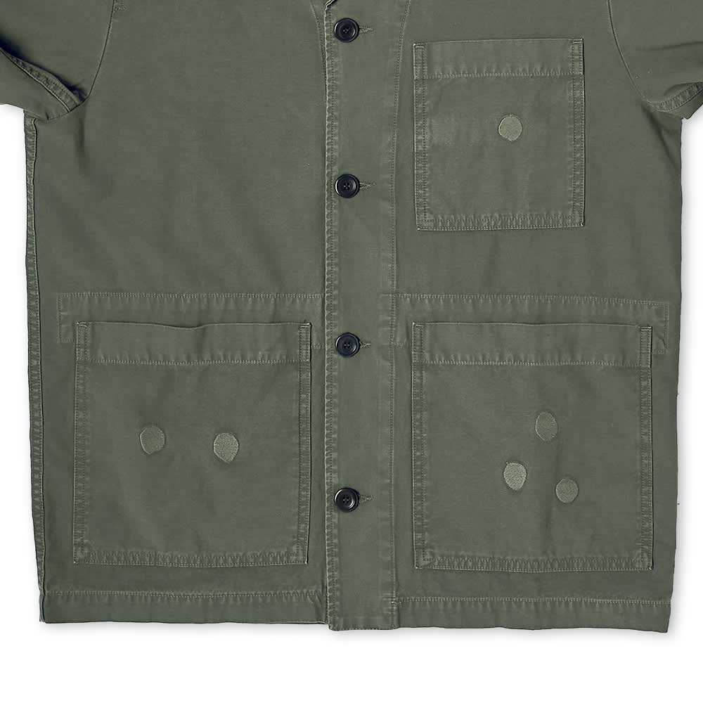 Norse Projects x Geoff Mcfetridge Mads Chore Jacket - Thyme Green