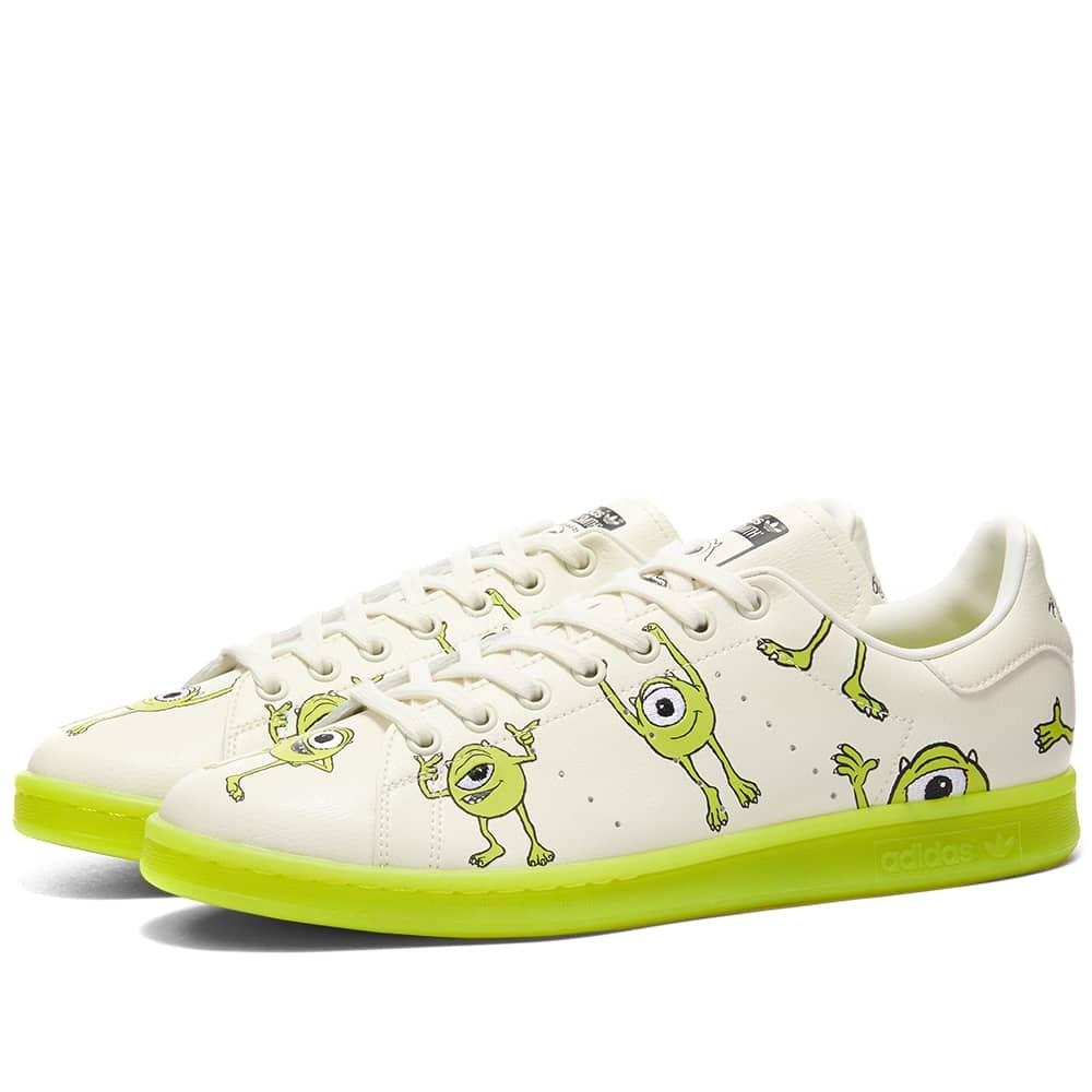 Adidas X Disney Stan Smith Mike - White, Pantone & Black