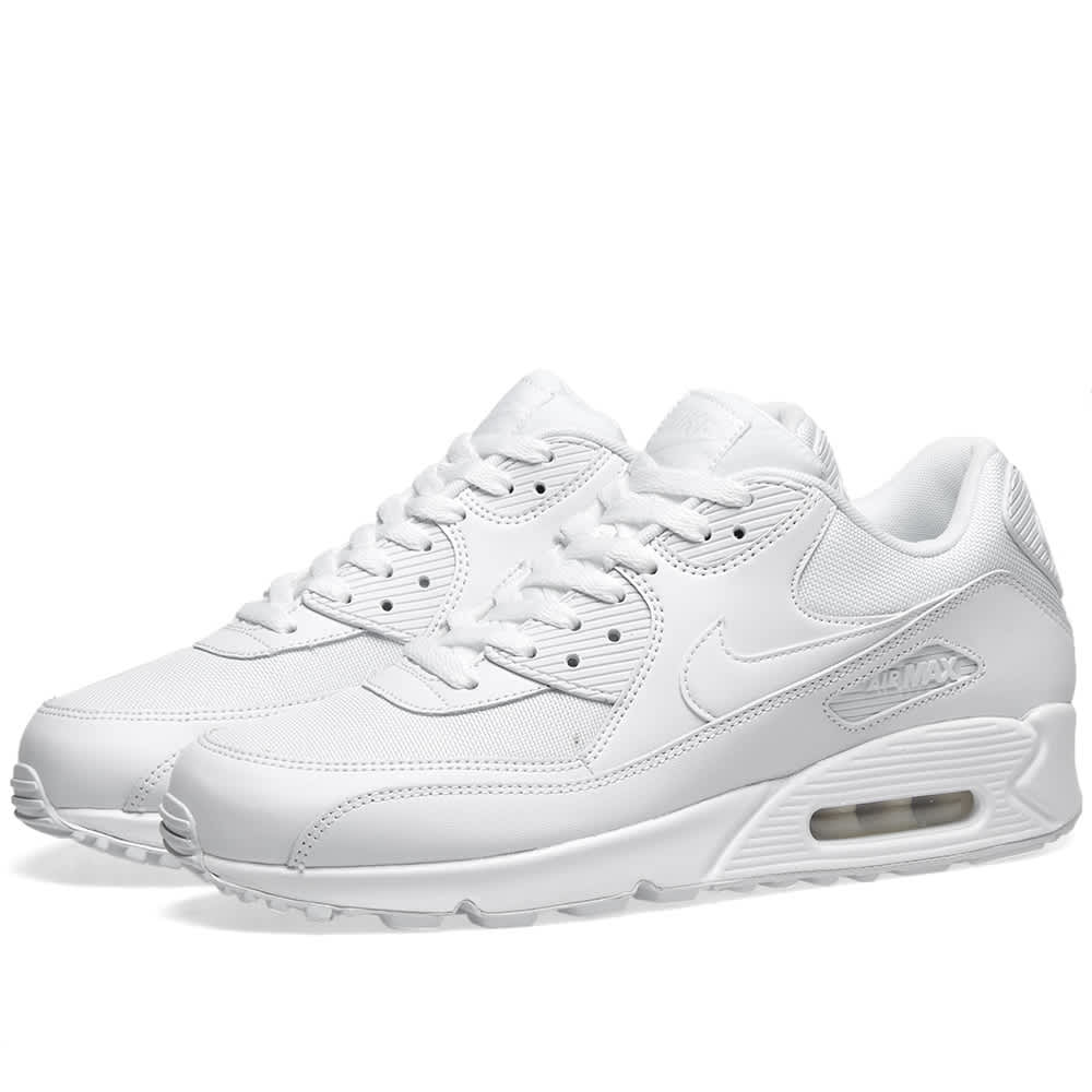 Mens Shoes Nike Air Max 90 Essential White 537384 111